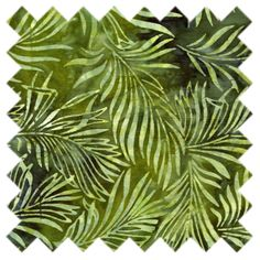 Totally Tropical Jungle Leaves Fabric