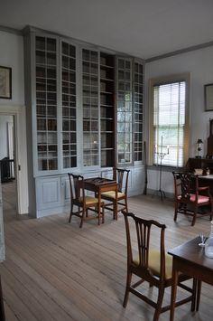 Library, Hope Mansion U2013 Historic Hope Plantation 1803, 132 Hope House Rd,  Windsor