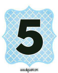 Blue_Black_Number_Five