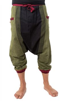 Aladinhose Sarouel Coton Noir S//M L//XL XXL pour hommes et femmes