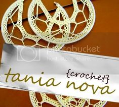 Tania Nova: Crocheted Earrings Posted October 5th, 2008 By soulliving Company Tania Nova Visit TaniaNovaCrochet.etsy.com I lo... Shirt Cutting Tutorial, Crochet Jewelry Patterns, Cut Shirts, Elsa, Cuff Bracelets, Crochet Necklace, October 5th, Arts And Crafts, Crafty