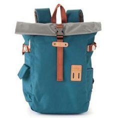 Rolltop Backpack 2.0 arctic blue by Harvest Label $88