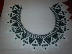 $50 These are hand- made Chaquira glass beaded necklaces. These are done by local Indiginous Indians of Chiriqui, Panama.  https://www.etsy.com/listing/126661344/chaquira-ngobe-indian-hand-beaded-collar