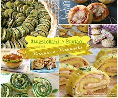 Una raccolta di 30 ricette di antipasti, finger food, Stuzzichini e rustici per Pasqua e Pasquetta, correlate da video o foto con passo-passo.