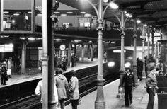 DDR, Berlin, S-Bahnhof Ostkreuz, 1981