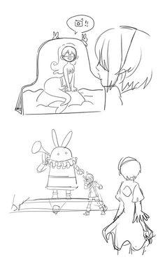Havin' fun! // Gosto da animação do 9S :3  -NieR: Automata
