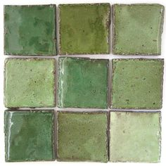 Shades of green by Southern Art Ceramics