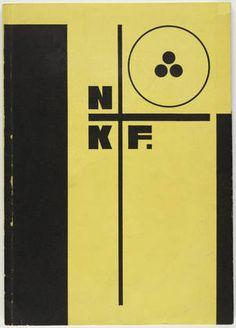 Piet Zwart. NKF: N.V. Nederlandsche Kabelfabriek Delft. 1928