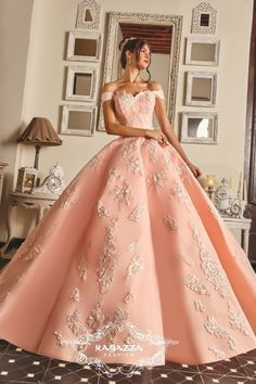 The Quinceanera Collection offers elegant quinceanera dresses,ragazza fashion and vestidos de quinceanera! These pretty quince dresses are perfect for your party! Xv Dresses, Quince Dresses, Ball Dresses, Prom Dresses, Casual Dresses, Summer Dresses, Pink Ball Gowns, Winter Dresses, Formal Dresses