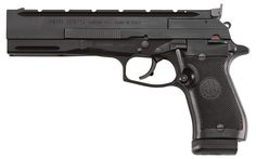 87 Target: LR Target Pistol for Practical Shooting Matches The Beretta 87 Target is a practical-shooting competition pistol that is ready to go out of the box. Rifles, Beretta Shotgun, Springfield 1911, 22lr, Revolvers, 9mm Pistol, Indoor Shooting Range, Colt 1911, Firearms