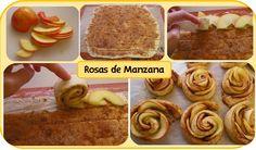 Manzana, postre light Rosas de manzana  https://www.facebook.com/WiseNutrittion/photos/a.521511014562735.1073741828.487396484640855/634456019934900/?type=1&theater