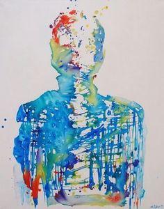 "Saatchi Art Artist Ana D'Apuzzo; Painting, ""TESLA"" #art"