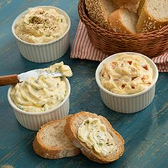 One of the best things about Country Crock® spread it that it can be used to create multiple flavors of buttery spreads like Pesto, Caesar, and more!