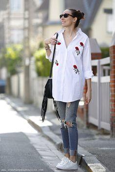 La robe mini broderies avec @boohooofficial  - 2/3 - Lauraleen Lifestyle