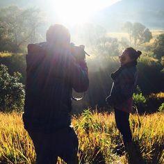 When the sun rises  at regal panjang West Java, Indonesia