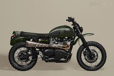 Pedro Oliveira of Portugal's Ton-Up Garage has a knack of building practical, stylish customs that work beautifully as daily riders. His latest build is this 2012 Triumph Scrambler, nicknamed 'Amazonia' and commissioned by a client who loves off-roading.