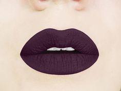 gothic, vampy lipstick