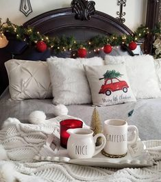 This photo is not mine. If the photo is yours or you know the owner, please comment for… – foggy-arithmetic Christmas Fairy, Christmas In July, Christmas Lights, Christmas Wreaths, Christmas Decorations, Xmas, Table Decorations, Holiday Decor, Winter Christmas