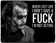 When i act like i dont give a fuck. Im not acting. Dark Quotes, Strong Quotes, Wisdom Quotes, True Quotes, Great Quotes, Funny Quotes, Inspirational Quotes, Sarcastic Quotes, Motivational