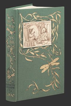 Wind in the willows - Kenneth Grahame, Illustrated by Charles van Sandwyk - Folio Society I Love Books, Good Books, My Books, Vintage Children's Books, Antique Books, Book Cover Design, Book Design, Design Ideas, Kenneth Grahame
