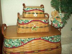 Longaberger Christmas Basket.16 Best Longaberger Baskets Images Basket Baskets Hampers