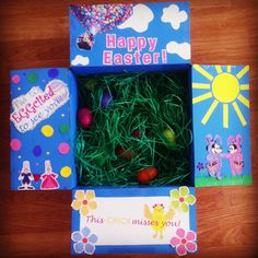Fun mail mail boxes of candy through the mail if theyre under easter care package negle Gallery