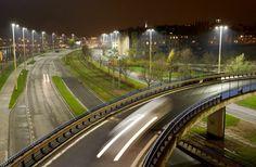 philips, szczcein, poland, led, leds, citytouch, smart cities, streetlights, street light, green lighting