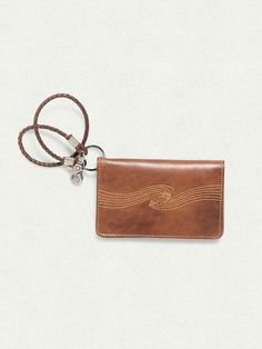 Fillesson Wallet Swong Stitch Cognac - Nudie Jeans Online Shop