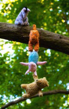 Eeyore, Tigger, Piglet and Pooh. Winne The Pooh, Winnie The Pooh Quotes, Winnie The Pooh Friends, Disney Love, Disney Magic, Disney Pixar, Disneyland, Jean Christophe, Pooh Bear