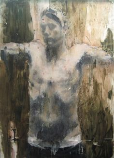 Catherine Mulligan | Nick 2 ~ Oil on mylar