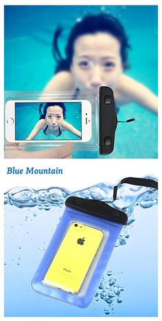 Case For iPhone Plus / iPhone 6 Plus / Universal Waterproof / with Windows Pouch Bag Solid Colored Soft PC for Waterproof Phone Bag Gadgets Techniques, Telephone Samsung, Phone Accesories, Bag Accessories, Bedroom Accessories, Accessoires Photo, Diy Tech, Phone Gadgets, Computer Gadgets