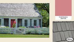 2014 Exterior Color Trends Benjamin Moore Coral Essence