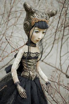 OLIVIA 02 by Art Dolls by Jolanta & Robert, via Flickr