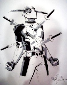 #Deadpool #Fan #Art. (Deadpool 17) By: Reilly Brown. (THE * 5 * STÅR * ÅWARD * OF: * AW YEAH, IT'S MAJOR ÅWESOMENESS!!!™)[THANK Ü 4 PINNING!!!<·><]<©>ÅÅÅ+(OB4E)    https://s-media-cache-ak0.pinimg.com/564x/07/57/e4/0757e4bb4dac17990ae8de6d8cd6a63d.jpg