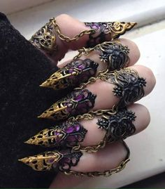 Finger armour from blackbirdwings