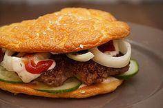 Low Carb Burgerbrötchen 'Oopsies', ein schönes Rezept aus der Kategorie Backen. Bewertungen: 219. Durchschnitt: Ø 4,1.