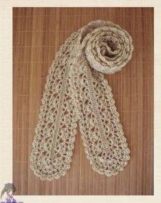 crochet cute scarf, crochet pattern | make handmade, crochet, craft
