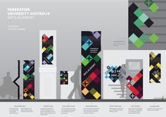 Wayfinding project by Larzy Russell, via Behance