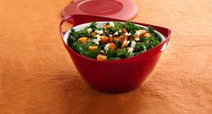 Marinated Kale and Butternut Squash Salad