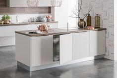 Kaschmir lakovaná supermat Grey Stone, Table, Furniture, Kitchens, Home Decor, Flat, Cashmere, Homemade Home Decor, Bass