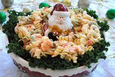 Creamy shrimp pasta salad!
