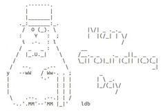 Groundhog Day ASCII Art