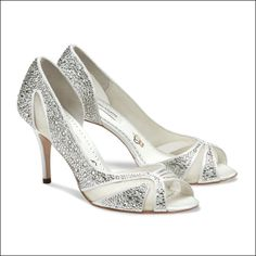catherine by Benjamin Adams | Wedding Shoes by Benjamin Adams | Bridal Shoes by Benjamin Adams from Arabesque.