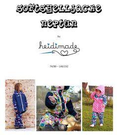 heidimade: Freebook Softshelljacke Neptun, kostenloses Schnittmuster