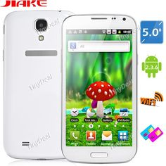 """(HAIPAI) I9377 4.7"""" Capacitive Multi-touch Android 4.1 MTK6577 Dual-core 3G Smart Phone+ GPS+ WiFi+ 8MP Camera -White P07-I9377A http://www.tinydeal.com/es/haipai-i9377-47-touch-android-41-mtk6577-3g-smart-phonegps-p-72131.html"""
