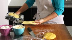 How to Make Pasta- gotta remember this one. It actually worked for us.
