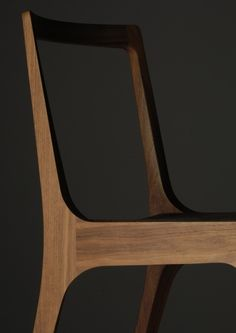 Whatever Works #chair #wood #amazing #shape #profile #cabinetmaker #design