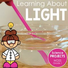 Science Experiments For Preschoolers, Science Lessons, First Grade Science Projects, Teaching Kids, Teaching Resources, Sound Science, Reflection And Refraction, Next Generation Science Standards, First Grade Teachers