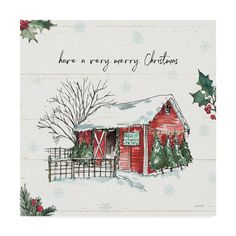 Christmas Canvas Art, Watercolor Christmas Cards, Watercolor Cards, Watercolor Ideas, Painted Christmas Cards, Christmas Drawing, Christmas Scrapbook, Watercolor Techniques, Watercolor Print