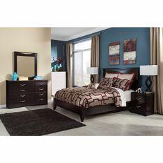 Signature Design by Ashley - Zanbury 4-Piece Queen Bedroom Set Ns